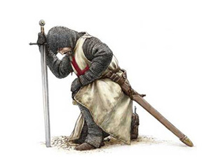 knights templar praying To the people of Europe #ALT